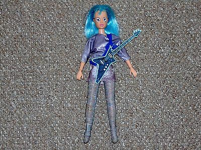 1987 Hasbro Jem & the Holograms Aja Doll with Some Accessories