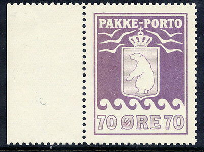 GREENLAND 1937 Parcel Post 70 Øre lithographed  MNH / **