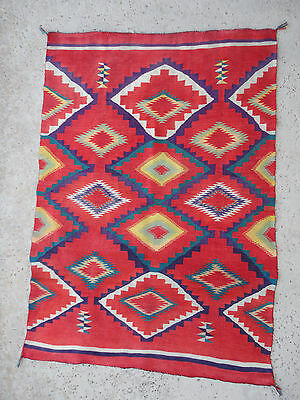 NAVAJO GERMANTOWN CHILDS BLANKET   (1880's- 90's)