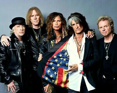 Aerosmith Legendary Rock Band - 8X10 Publicity Photo (Op-662)