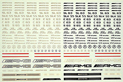 German Tuning Cars Street Racing No.02 Sponsoren Bogen 1:18 Decal Abziehbilder