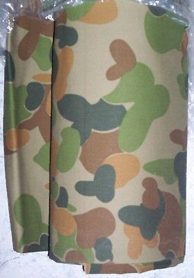Ozzie Camo Repro 100% Cotton Material Fabric - Australian Army Defence Cadets