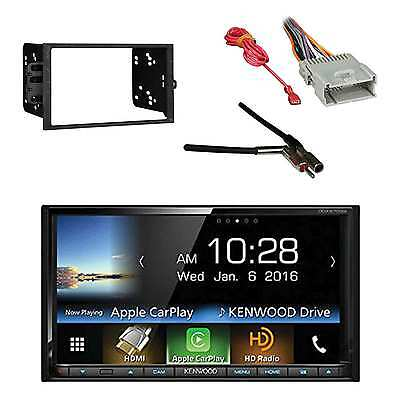 Car Stereo w/2-DIN Installation Kit, Antenna Adapter & Radio Wiring Harness