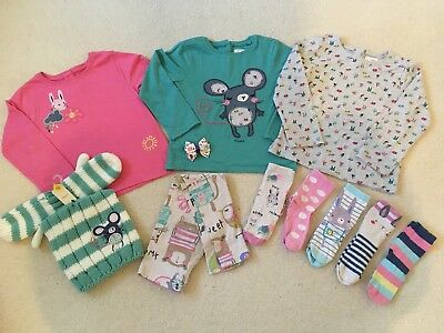 Next Girls some BNWT 4-5-6 Yrs Sweet Pea Sweetpea Bundle Tops Leggings Socks Hat