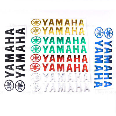 For Yamaha MT-07 MT-09 Fuel Gas Tank Fairing Pad Motorcycle Emblem Decal Sticker