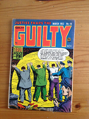 Justice Traps The Guilty #48 Stein, Marcus, Meskin