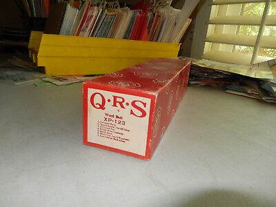 Q.R.S. QRS Piano Roll - 7 SONGS XP-123