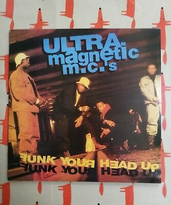 Ultramagnetic MC's Funk Your Head Up - VERY RARE double vinyl