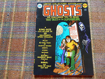 "Dc Limited Collector's Edition ""ghosts"" Giant Comic Dec/jan 1974-75"