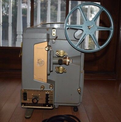 8mm Projector - Vintage DeJur Ambassador, Working with Power Cord and Reel