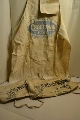 3 Canvas Advertising Hardware Aprons
