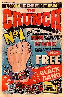 The Crunch Collection Full Run Of Adventure Comics On Dvd + Hotspur Merge Issues