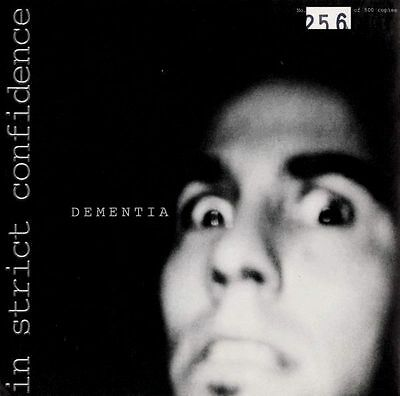 "IN STRICT CONFIDENCE Dementia - 7"" / Vinyl - Limted 500"