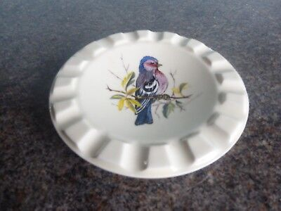 Brixham Pottery - Bird Design - Small Dish / Ash Tray