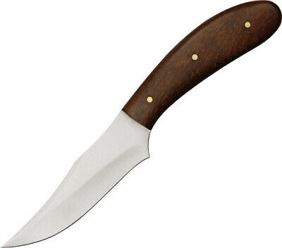 "PAKISTAN KNIVES Dress Skinner Patch Knife 7"" Overall Burlwood Sheath"