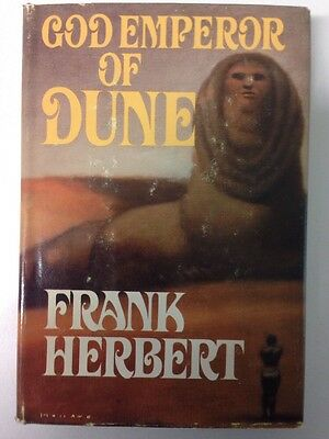 God Emperor of Dune - Frank Herbert (Hardcover, Dust Jacket, 1981) Book Club Ed.