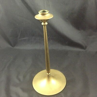Tall Vintage Bradley And Hubbard Brass Candle Stick