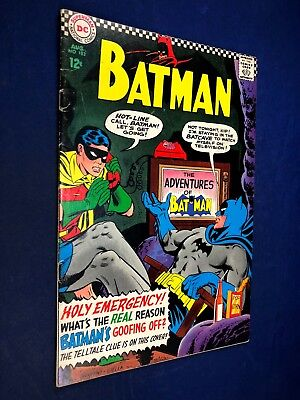 Batman #183 (1966 DC Comics) 2nd appearance of Poison Ivy Silver Age NO RESERVE