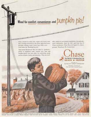 1952 Chase Brass & Copper: Wired for Convenience and P Vintage Print Ad