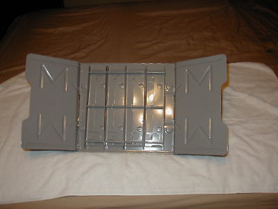 """Master Products Catalog Rack / Stand Heavy Metal with 2"""" Clips Lightly Used"""