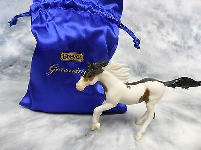 Breyer * Geronimo * Premier Club Pinto Running Mare SR Stablemate Model Horse