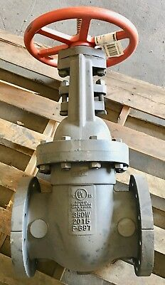 "Nibco 6"" Cast Iron Fire Protection Gate Valve Model F-697-O 300/350 Psi Wwp"