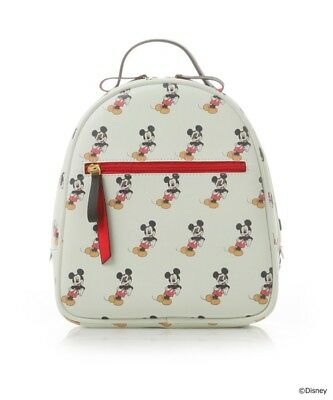 New Samantha Thavasa COLORS by Jennifer Sky Mickey Mouse BackPack Bag Gift Japan
