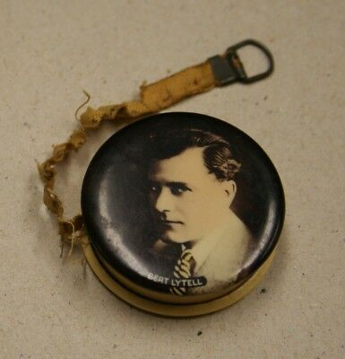 Bert Lytell EXTREMELY RARE Celluloid SIlent Star Tape Measure Circa 1915 to 1920