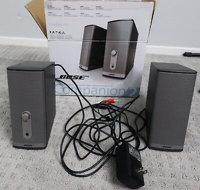 Pre-Owned Bose Companion 2 Series II Computer Multimedia Speaker System with Box