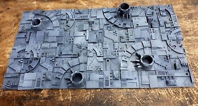 Star Wars Prop Death Star Diorama Set Fully painted and weathered