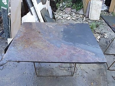 Slate slab about  25mm thick 700x1000mm