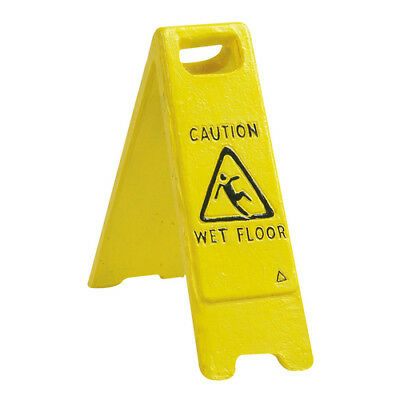 "Flamingo Aquariumdekoration ""Caution wet floor"", UVP 5,89 EUR, NEU"