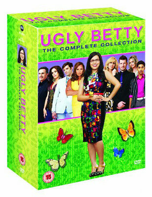 Ugly Betty - Seasons 1-4 NEW PAL Cult 22-DVD Set America Ferrera Eric Mabius