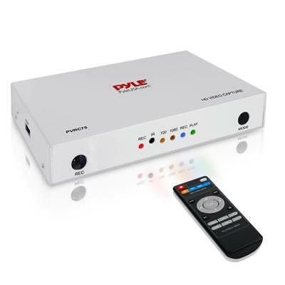 Pyle PVRC75 HD External Capture Card Full HD 1080p Gaming Video Recording System
