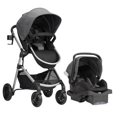 LIMITED EDITION -Evenflo pro series pivot travel system infant car seat/stroller