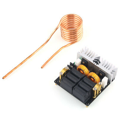 1000W ZVS Low Voltage Induction Heating Board Module Heater Coil 12V-48V Driver