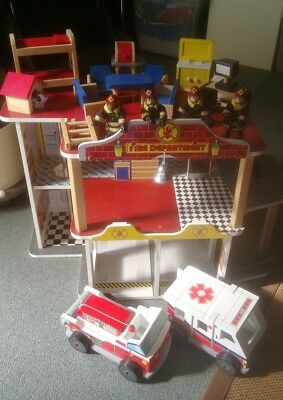 fire station dolls house