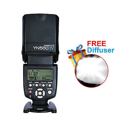 YONGNUO Flash Speedlite YN-560IV for Canon Nikon Pentax Olympus Fuji Cameras kit