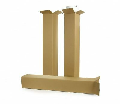 10pk Telescopic Extendable Cardboard Boxes, two-pieces, mailbox 101-200cm length