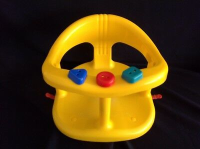 Baby Activity Bath Seat - Keter Bath Fun Baby Ring - Bright Yellow - 30cm x 30cm