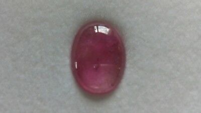Turmalin Cabochon, 11,8x8,5 oval, 2,45ct.