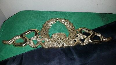 "NICE Vintage SOLID BRASS Small DOOR/Window TOPPER~12""!"