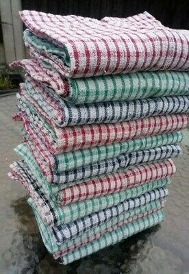 Pack of 3 x Tea Towels 100% cotton dish drying cleaning cloth kitchen 20 x 13 in