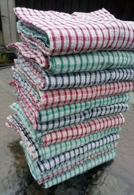 Packs of Tea Towels 100% cotton dish drying cleaning cloth kitchen 20 x 13 in