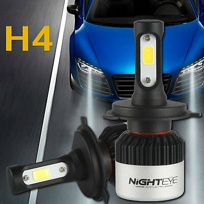 Nighteye LED H4 72W 9000LM Hi/Lo lampada Headlight Kit luce LED per auto 6500K