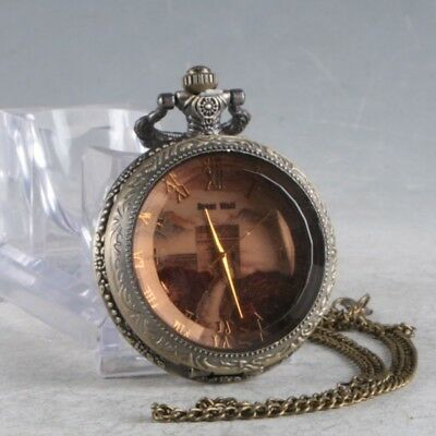 European Exquisite Classical Mechanical The Great Wall Pocket Watch  LB10