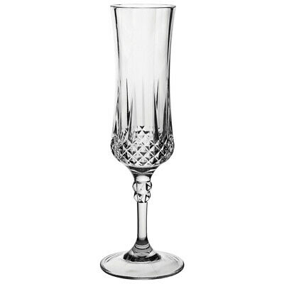 Gatsby Polycarbonate Champagne Flutes 200ml - Set of 12 Plastic Champagne Glass
