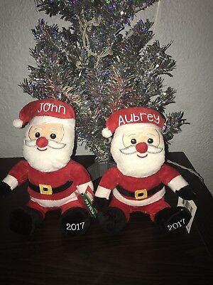 Personalized Holiday Plush Elf,snowmen, Reindeer,santa