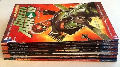 Green Arrow New 52 Lot Volumes Vol 1-7 TPB Lot/Set/Collection VF/NM 9.0