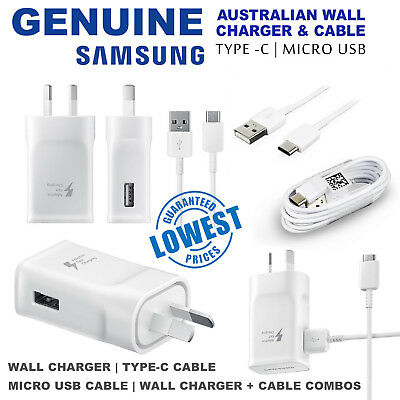 9V/5v Genuine SAMSUNG ADAPTIVE FAST Wall Charger Plug For S7 S6 Edge Note 4 5
